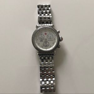Michele CSX 36mm Diamond Watch